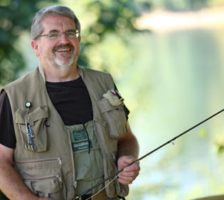 Fishing is one of my passions. When I fish, I'm at peace. When I work with my clients, my goal is to build a plan that helps them pursue their passions, too.